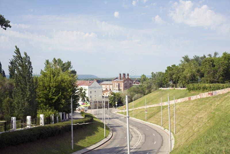 City Landscape Of Samara Royalty Free Stock Photo