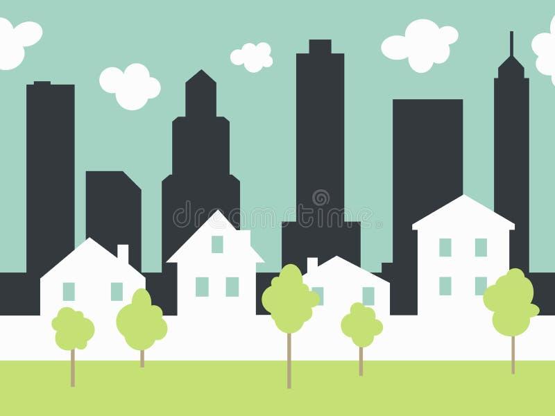 Download City Landscape Stock Illustration - Image: 39303368