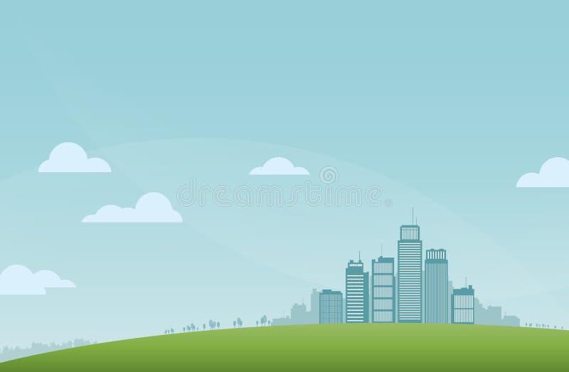 Download City Landscape stock vector. Illustration of design, tower - 33655304