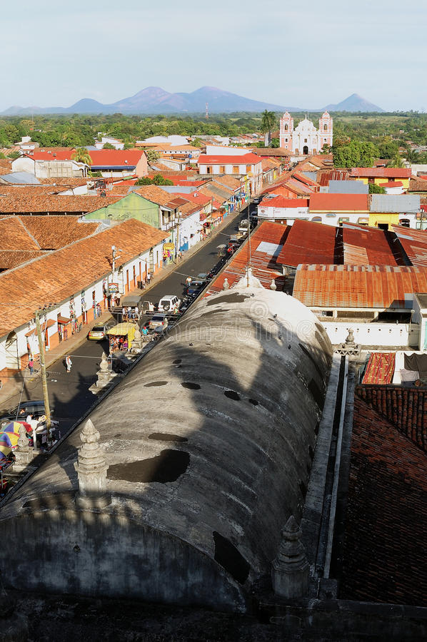 Download The City Of Leon, Nicaragua Stock Image - Image: 24841171
