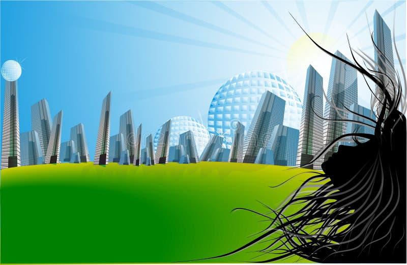 City life vector illustration