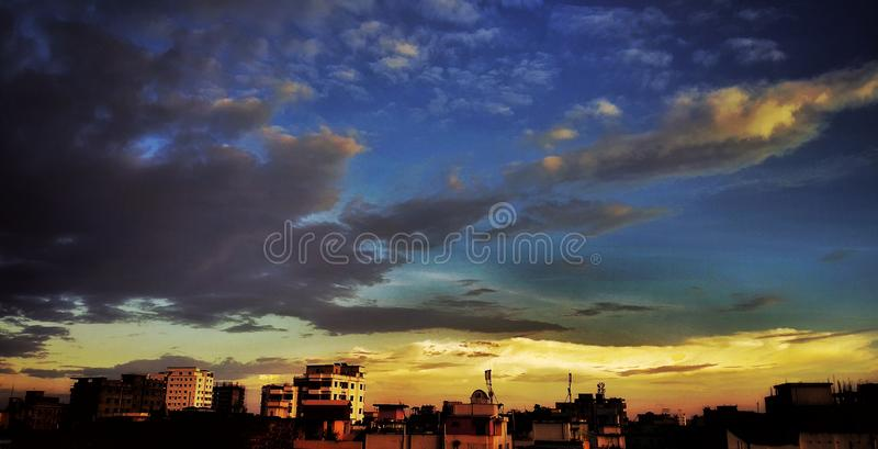 City Life is Bounded life royalty free stock images
