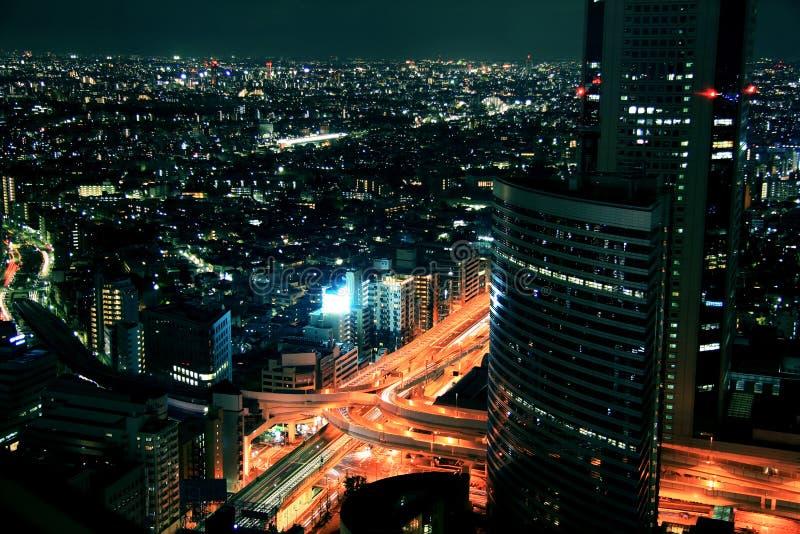 City Lights Royalty Free Stock Photography