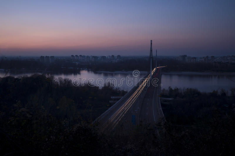 City lights Blackout. Power is Off, Earth Day Novi Sad Serbia royalty free stock images