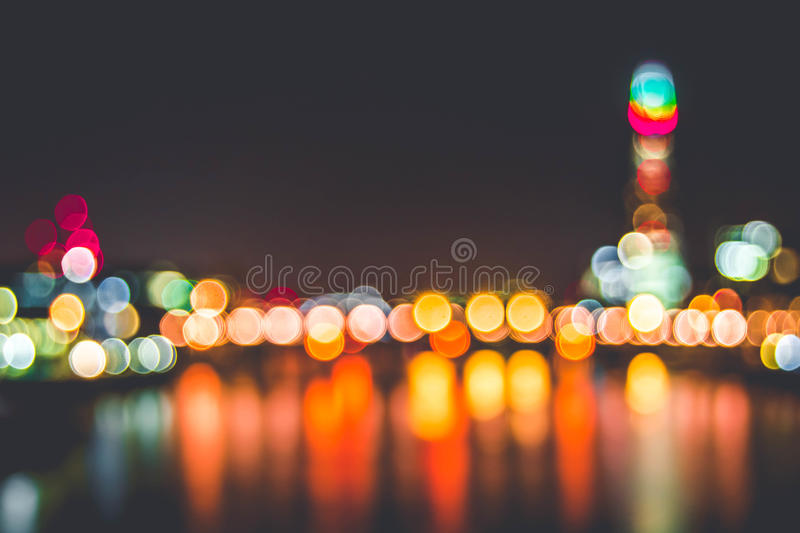 City Lights In Bokeh Free Public Domain Cc0 Image