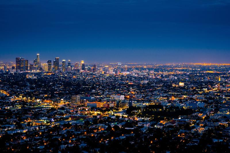 City Lights During Night Time Free Public Domain Cc0 Image