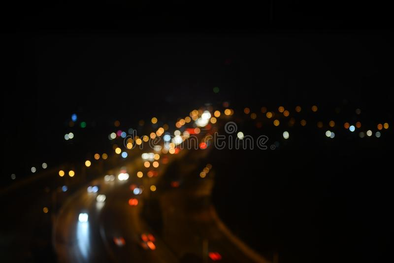 City Lights Photograph stock photo