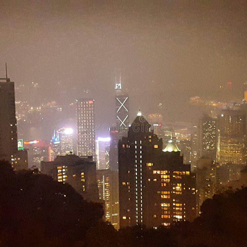 City lights 2 royalty free stock photography