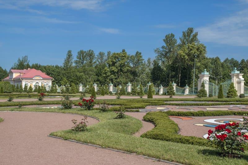The city of Lomonosov, Menshikov Palace stock images