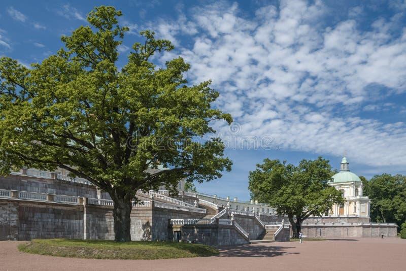 - the city of Lomonosov, Menshikov Palace royalty free stock photography