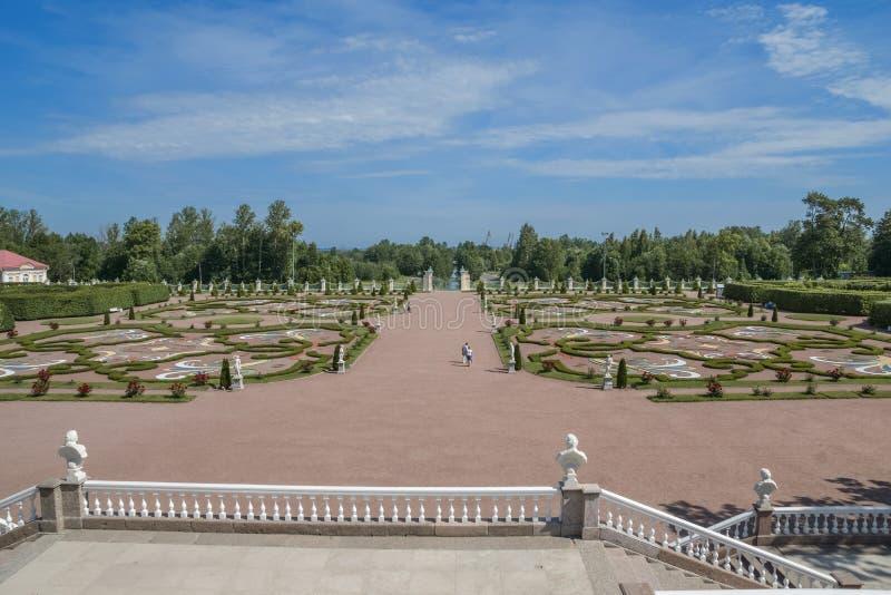 - the city of Lomonosov, Menshikov Palace royalty free stock images