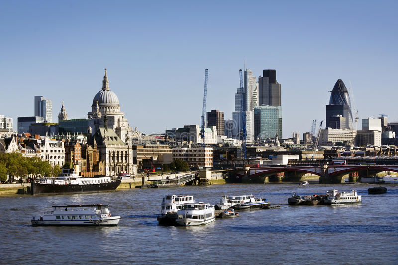 Download City of London stock photo. Image of river, place, cityscape - 17510804