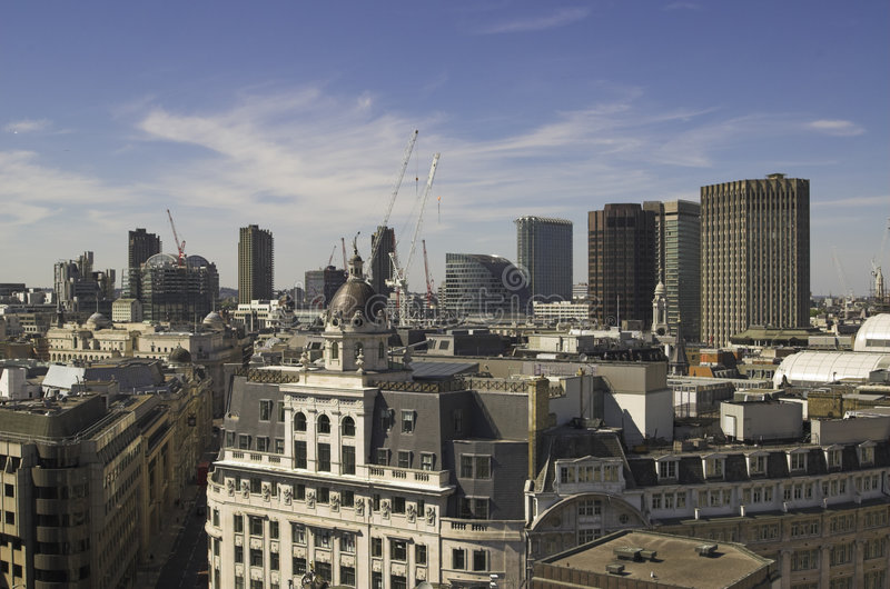 The City of London stock photo