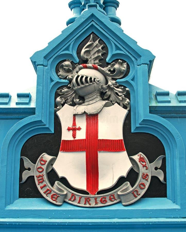 City of London Shield royalty free stock photos