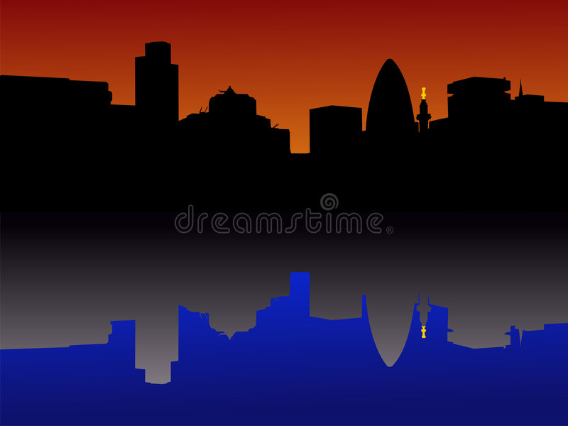 Download City of London Skyline stock illustration. Illustration of monument - 2621721