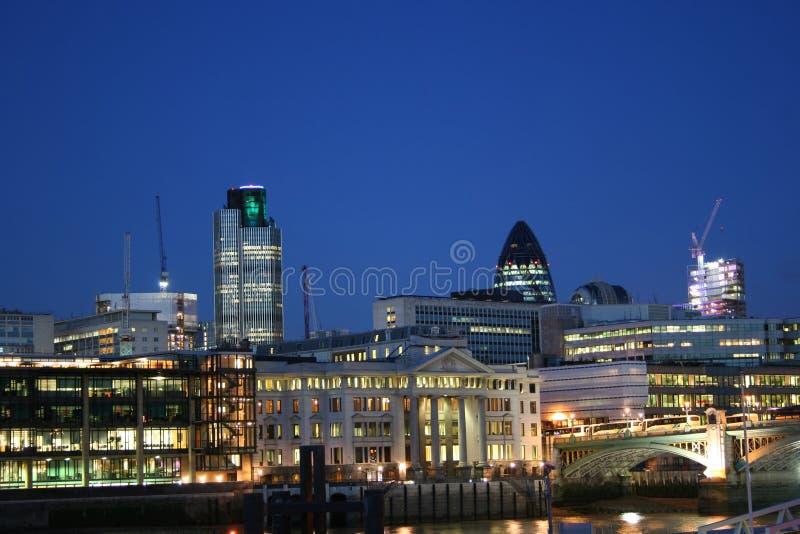 city london skyline στοκ φωτογραφία