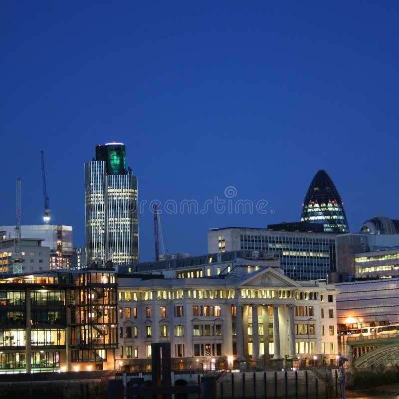 city london skyline στοκ εικόνες