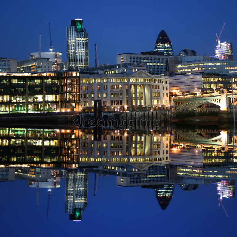city london skyline στοκ φωτογραφία με δικαίωμα ελεύθερης χρήσης