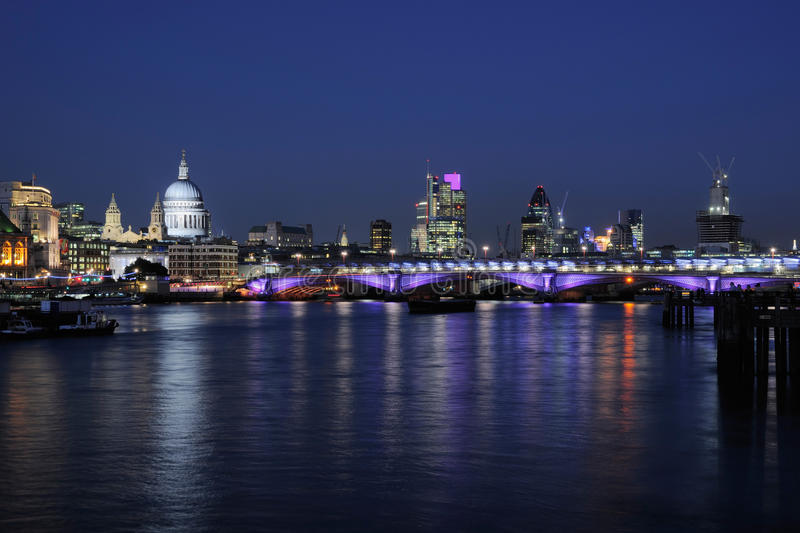 Download City Of London Skyline At Dusk Stock Photo - Image: 26504082