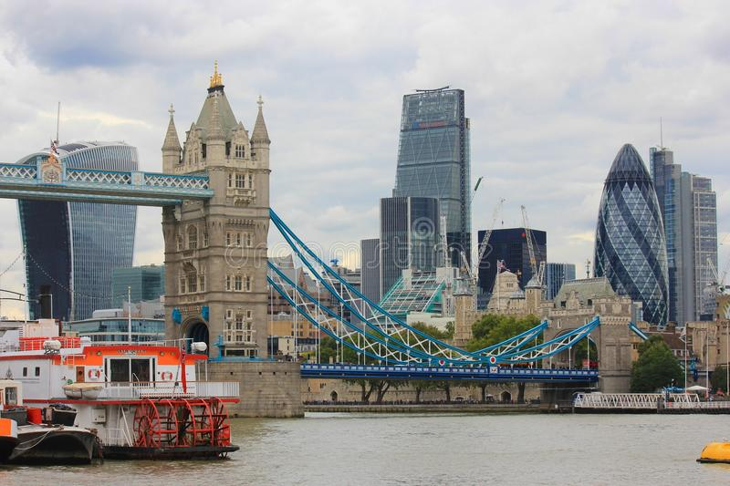 The City of London royalty free stock image