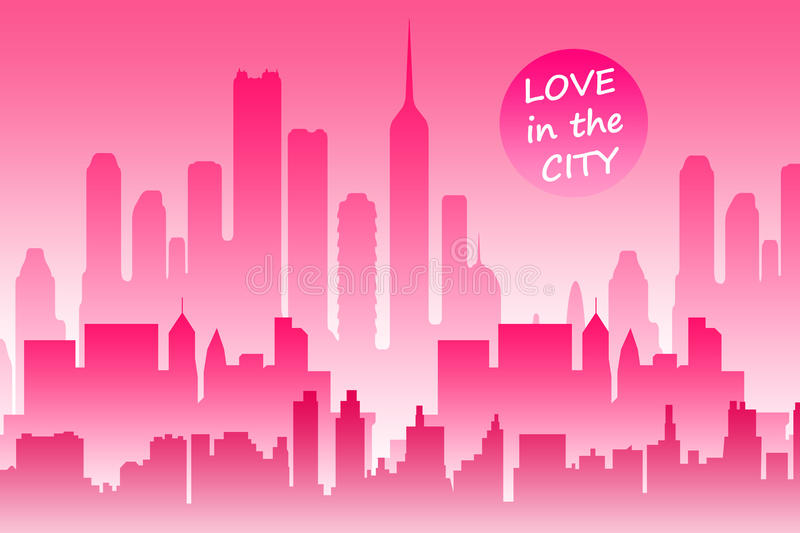 Download City Love Royalty Free Stock Photo - Image: 18527365