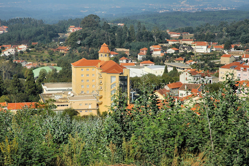 City of Luso, Portugal stock images