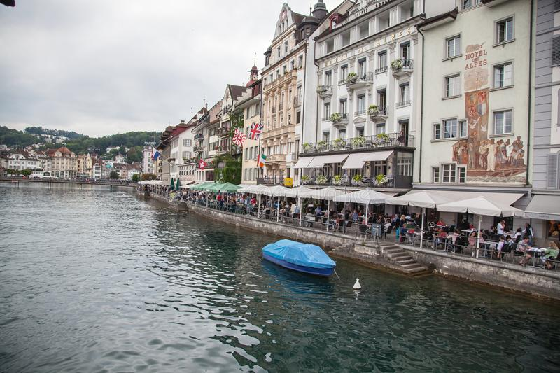 City of Luzern, Switzerland stock images