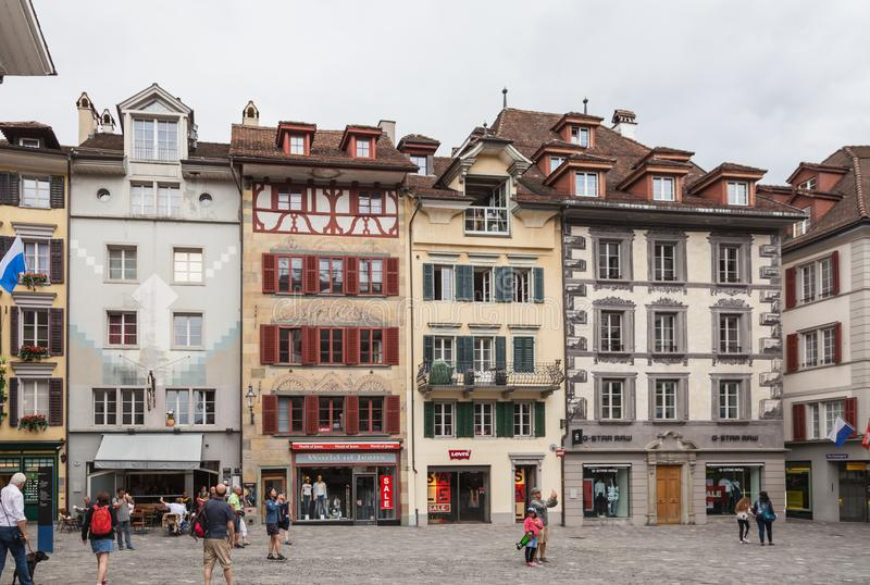 City of Luzern, Switzerland royalty free stock image