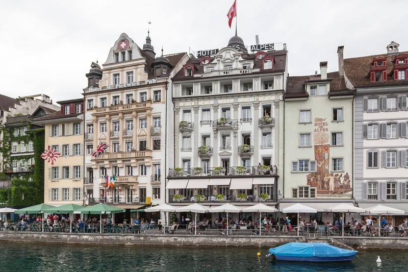 City of Luzern, Switzerland royalty free stock photography