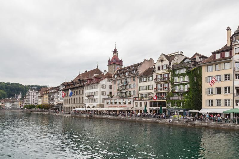 City of Luzern, Switzerland stock photography