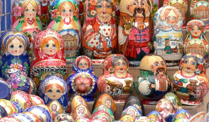 The city Lviv in Ukraine stock images