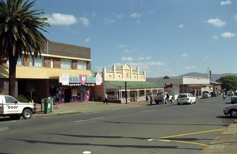 Lydenburg, South African Republic. The city of Lydenburg in the South African Republic royalty free stock photo