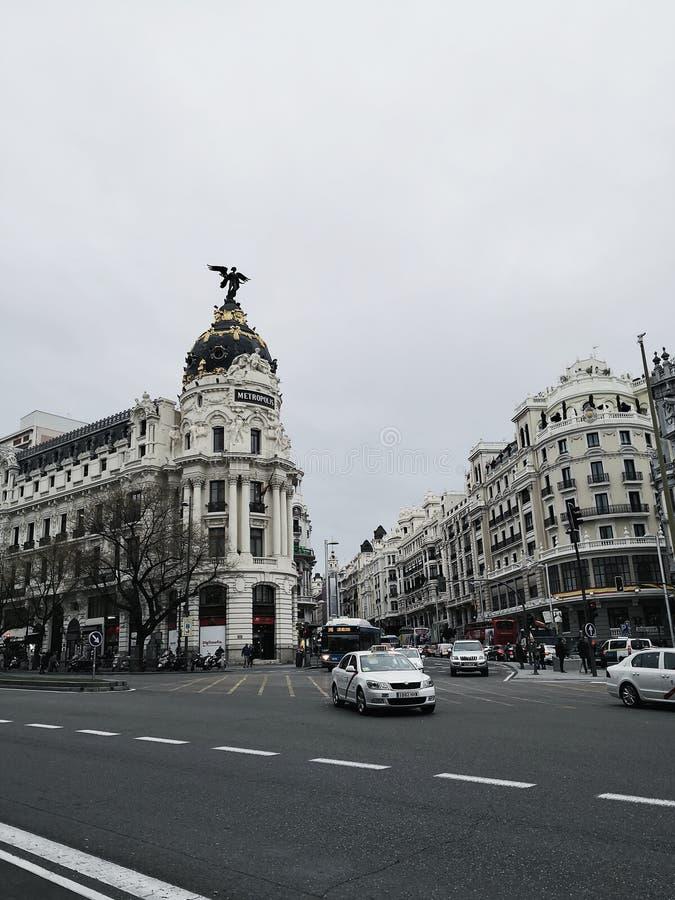 City of Madrid royalty free stock photo