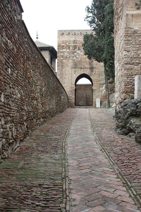 City of Malaga royalty free stock image