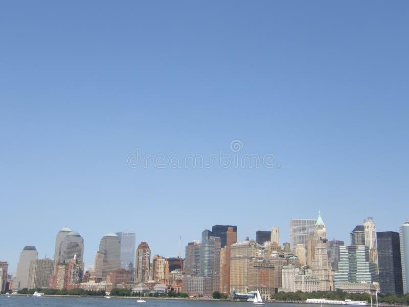 city manhattan new york στοκ φωτογραφία με δικαίωμα ελεύθερης χρήσης