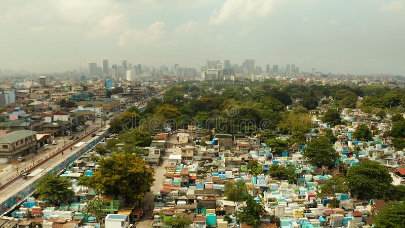 The city of Manila, the capital of the Philippines. stock photos