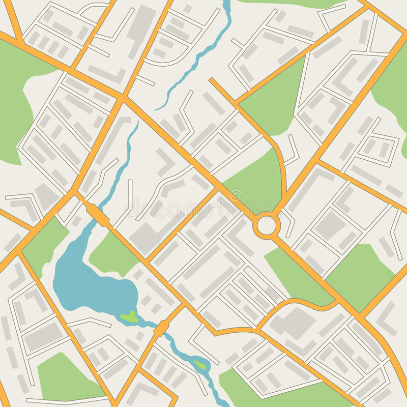 City map abstract seamless pattern vector vector illustration