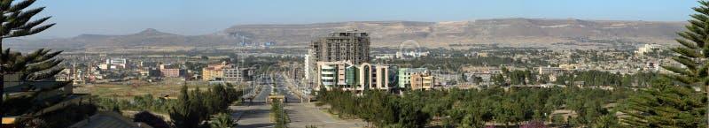 The city of Mekele in Ethiopia. The city skyline of Mekele in Ethiopia royalty free stock photo