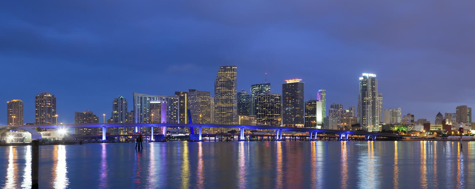 Download City of Miami. stock image. Image of building, reflection - 28799715