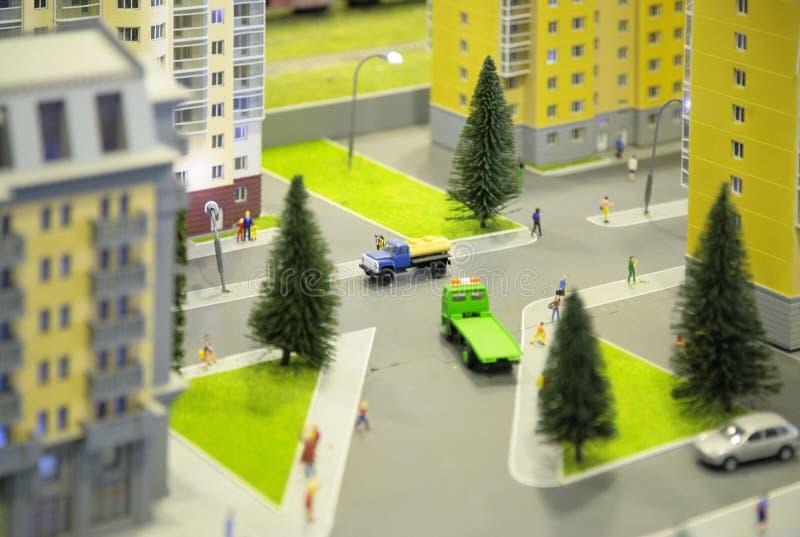 City miniature stock photos
