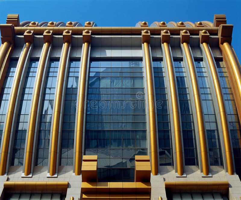 City of modern architecture royalty free stock photos