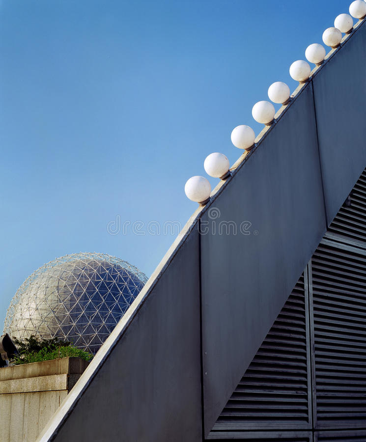 City of modern architecture royalty free stock photo