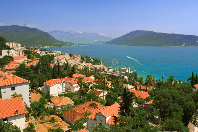 Download City on the Montenegro stock image. Image of bright, nature - 29030383