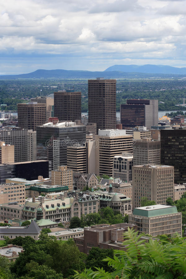 City of Montreal royalty free stock photo