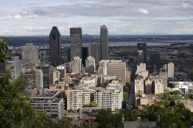 City of Montreal stock photography