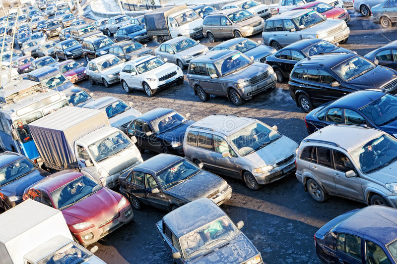 Download City Movement In A Rush Hour, Stock Photo - Image: 26507396