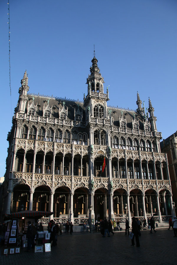 Download City Museum Of Brussels On The Grand Place Stock Photo - Image: 3881968