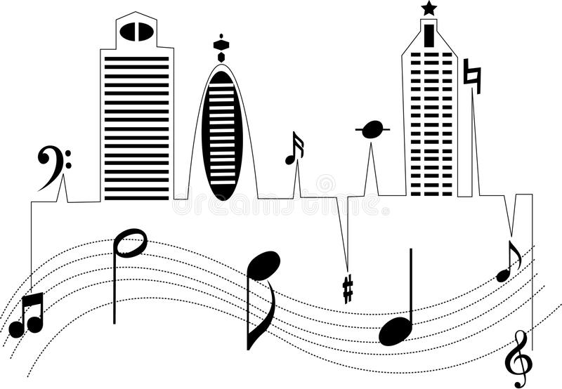 Download City Music Stock Photo - Image: 23113490