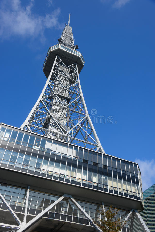 The City of Nagoya. In Aichi prefecture, Japan. It is the Nagoya TV Tower royalty free stock photography
