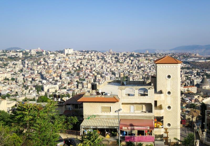 City of Nazareth stock photography